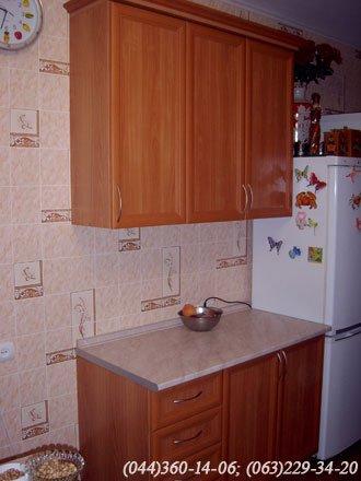 Кухня угловая, двухсторонняя.